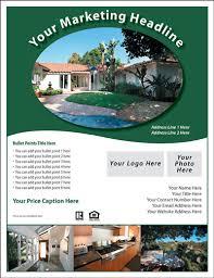 Real Estate Flyer Samples Zromtk Gorgeous Free Sample Flyers