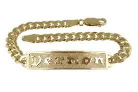 hawaiian jewelry 14k yellow gold men id bracelets are all