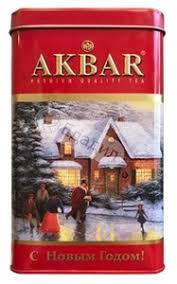 <b>Чай черный Akbar Limited</b> Edition Новый год листовой, 175 г ...