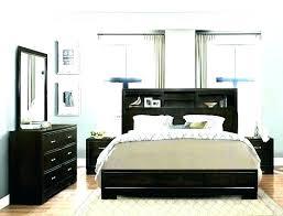 Living Spaces King Bed Cal King Bed Frame With Storage Platform ...