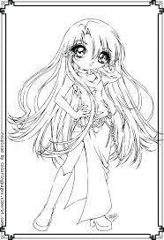 Coloring Pages Of Girls Cute Anime Coloring Pages Girls Cat Girl