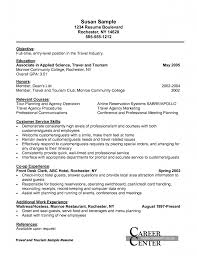 sample resume for food server