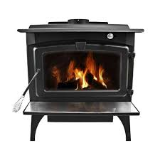 this pleasant hearth burner is an elegant center piece for any room it has a large glass door that allows the fire to brighten up the room while it is