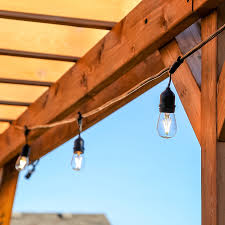 Pergola String Lights Us 57 28 20 Off 10m 10 Leds Waterproof Outdoor String Lights Edison Bulbs Festoon Garland Light For Garden Party Pergola Wedding Decoration In
