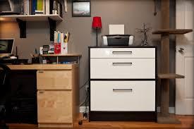 ... File Cabinets, Minimalist Ikea File Cabinet Wooden Desk Red Table Lamp:  inspiring printer file ...