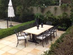 stone patio table. Natural Stone Outdoor Tables In Dining Table Remodel 7 Patio .