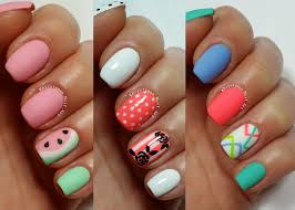 Art Designs 3 Easy Nail Art Designs For Short Nails Freehand 2 Youtube