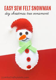 christmas free template felt snowman christmas ornament free template