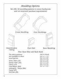 chair rail profiles. Crown Molding Sizes And Profiles Cove Moulding Casing Chair Rail Base