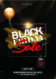 Black Flyer Backgrounds Black Friday Sale Psd Flyer Template Template Psd Free