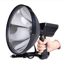 Hunting Lights For Sale Us 54 78 32 Off 9 Inch Portable Handheld Hid Xenon Lamp 1000w 245mm Outdoor Camping Hunting Fishing Spot Light Spotlight Brightness Sale In Special