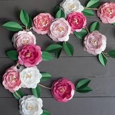 Diy Paper Flower Camellia Diy Paper Flowers Allfreepapercrafts Com