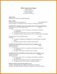 Resume Example 39 Free Cna Templates Samples Photo Examples