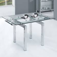 Expandable Glass Dining Room Tables