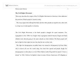 this essay describes the origins of the civil rights movement in document image preview