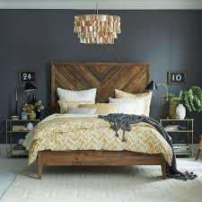 chandelier steals the spotlight for chic modern bedroom ideas