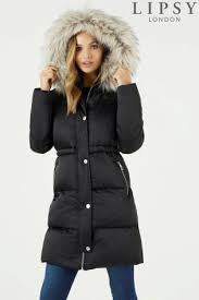Womens Duvet Jackets | Ladies Padded & Quilted Jackets | Next & Lipsy Faux Down Duvet Padded Coat Adamdwight.com