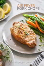 air fryer pork chops recipe juicy and
