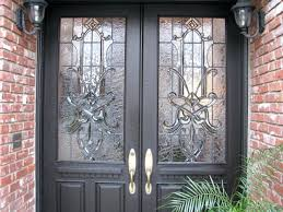 leaded glass doors craftsman traditional leaded beveled stained glass entry doors side traditional leaded glass door repair atlanta