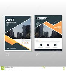 for creating a book cover lynda orange black triangle vector annual report leaflet brochure flyer