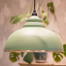 from the anvil harborne sage green pendant light insitu