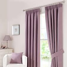 Lilac Bedroom Curtains Mauve Solar Blackout Pencil Pleat Curtain Dunelm Home