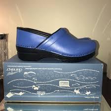 Dansko Professional Cobalt Size 39 New In Box Nwt