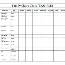 Daily Chores Checklist Daily Chore Checklist Template Printable