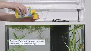 <b>Tetra AquaSafe</b> – делает водопроводную воду пригодной для рыб ...