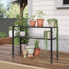 Outdoor console table Modern Magnus Outdoor Console Table Wayfair Outdoor Sofa Table Wayfair