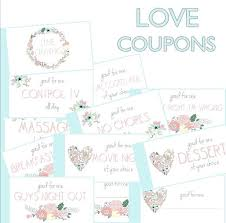 Printable Homemade Coupons Homemade Coupons For Boyfriend Template Friend Coupon Book Printable