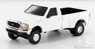 Ford F350 Pickup Truck, White - ERTL Collect 'n Play 46238B- 1/64 ...