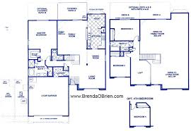 Black Horse Ranch Floor Plan US Home Gold Leaf II Model   3 Bedrooms 2,347  Sq. Ft