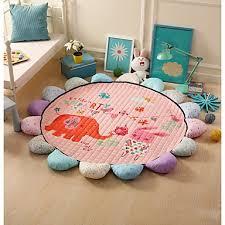 mats rugs cartoon bath rugs cotton creative circle shape