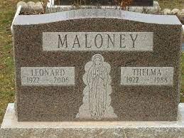 Maloney, Thelma (Fairview Cemetery)   Niagara Falls Canada