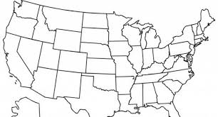 United States Map Coloring Page Blank Us Map Printable Pdf Printable