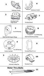 magnetek century motor parts schematic