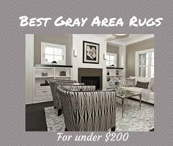 best gray area rugs for under 200