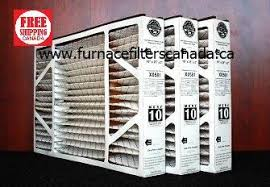 lennox furnace filters. lennox healthy climate part no. x0581 16 x 25 3 merv 10 furnace filters
