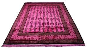 pink wool area rug purple