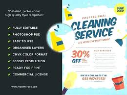 House Cleaning Flyer Template Beauteous Cleaning Service Commercial Flyers Samples Baycabling