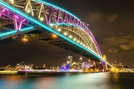 beautiful lighting. 2 vivid sydney australia beautiful lighting
