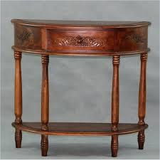 round console tables full size of decorating vintage half table half moon corner table half moon table small half white console tables with storage