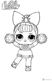 Complex coloring page with the lol doll's room. Lol Surprise Dolls Coloring Pages Print Them For Free All The Series Cool Coloring Pages Cute Coloring Pages Unicorn Coloring Pages
