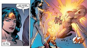 Panels of Interest — Wonder Woman vs. Cheetah. [from Justice League of...