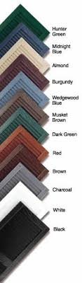 Mid America Color Chart 25 Best For The Home Images Vinyl Shutters Shutters Home