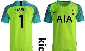 1 Tottenham Impresionante Jersey 2019 Lloris Ve Portero Niño