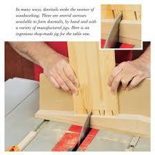 Table Saw Dovetail Jig Downloadable Plan