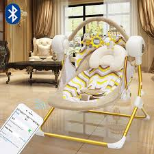 muchuan increase baby electric rocking chair baby swing comfort chair recliner rocking chair cradle bed local gold remote control rocking chair with