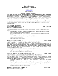 qualifications summary resumes 8 resume qualifications summary happy tots